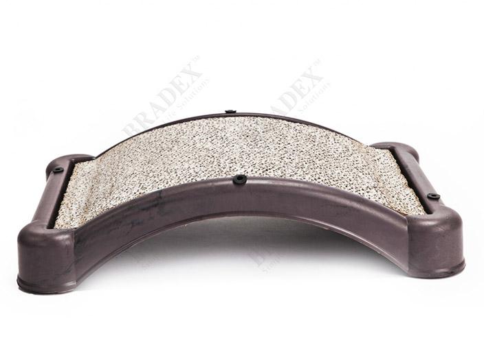 Когтеточка Царапка верёвочная угловая 51x23cm А227