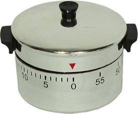 Механический таймер в виде кастрюли для кухни T-090 (кастрюля)Разное<br><br>