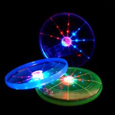 Светящийся летающий диск (фрисби) FL-001игрушки<br><br>