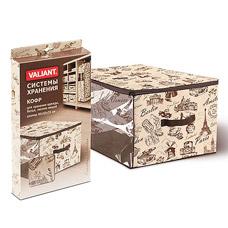 Кофр Valiant TRA003 для хранения большой 60х50х35 смТовары для гардероба<br><br>
