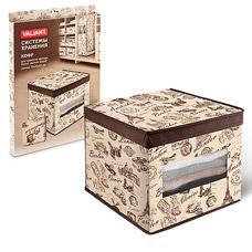 Кофр Valiant TRB312 для хранения с окошком  30х40х25 смТовары для гардероба<br><br>