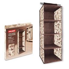 Кофр Valiant TRC301 подвесной для хранения, 4 секции, 30х30х84 смТовары для гардероба<br><br>
