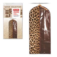 Чехол Valiant LC006 для одежды большой, 60х137 см, леопардТовары для гардероба<br><br>