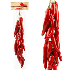 Муляж Fancy Fair RP60 Перец чили в связке, красный, 60смТовары для декора<br><br>