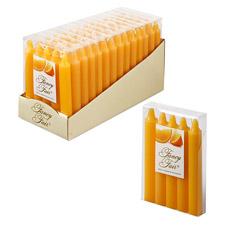 Набор свечей ароматизированных Fancy Fair O15, 15 см, 5 шт., аромат апельсинТовары для декора<br><br>