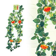Цветы искусственные Fancy Fair RS/L150 Лиана Роза с цветами, микс, 150смТовары для декора<br><br>