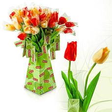 Цветы искусственные Fancy Fair TLP48 Тюльпан, микс, 48смТовары для декора<br><br>