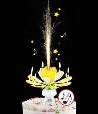 Праздничная музыкальная свеча OP-007Полезные вещи для дома<br><br>
