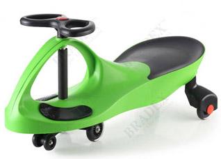 Машинка детская, Бибикар с полиуретановыми колесами, зеленаяигрушки<br><br>