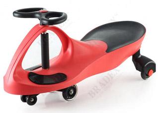 Машинка детская, Бибикар с полиуретановыми колесами, краснаяигрушки<br><br>