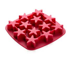 Форма для льда Bekker BK-9513 Звездочки вишневаяТовары для выпечки<br><br>