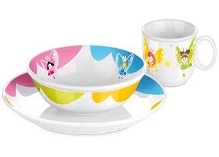 Набор посуды Bambini, феи, 3 шт., Tescoma 667950Tescoma для детей<br><br>