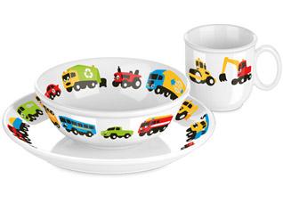 Набор посуды Bambini, машинки, 3 шт., Tescoma 667955Tescoma для детей<br><br>