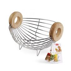 Фруктовница Else Wood&amp;Metal L-047МСервировка стола<br><br>