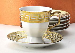 Кофейный сервиз Mayer&amp;Boch MB-21599, 12 прСервировка стола<br><br>