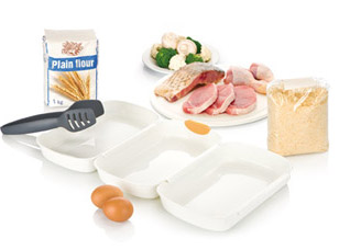 Набор для тройного кляра Presto, Tescoma 420870Обработка продуктов<br><br>