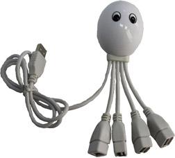 USB-хаб в форме осьминога EL-1018Электроника<br><br>