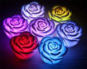 Светодиодная свечка Роза LL0106RЭлектроника<br><br>