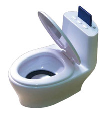 Мини MP3-плеер с динамиком Унитазик SP-009BЭлектроника<br><br>