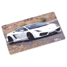 Флешка кредитка Автомобиль белый 8 Gb Эврика арт. 94156Сувениры<br><br>