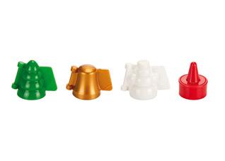 Формочки для печенья с начинкой Delicia , 3 рождественских формы, Tescoma 631646Выпечка<br><br>