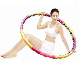 Массажный обруч Dynamic Health Hoop W 2.3 кгМассажные обручи<br><br>