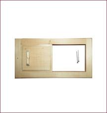Вентиляционная решетка с задвижкой Банные штучки 32141Все для бани<br><br>