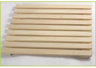 Решетка на пол 50х100 см для бани и сауны Банные штучки 3703Все для бани<br><br>