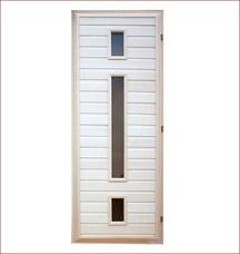 Дверь со стеклопакетом Банные штучки 32133Все для бани<br><br>
