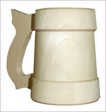 Кружка точёная Банные штучки 30039Все для бани<br><br>