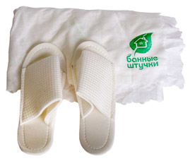 Одноразовый набор для женщин, для бани и сауны Банные штучки 33301Все для бани<br><br>