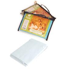 Вафельное полотенце-простынь банное Банные штучки 32072Все для бани<br><br>