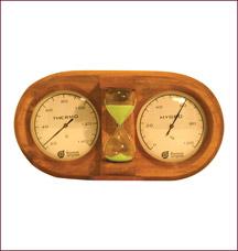 Термометр с гигрометром Банная станция Банные штучки 18028Все для бани<br><br>