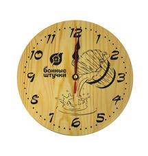 Часы кварцевые в предбанник для бани и сауны Банные штучки 18039Все для бани<br><br>