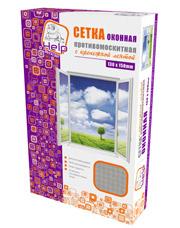 Сетка противомоскитная с крепежной лентой 130х150 см Help 80002Средства против вредителей<br><br>