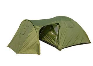 Палатка трехместная, с тамбуром, двухслойная Boyscout 61080Палатки<br><br>