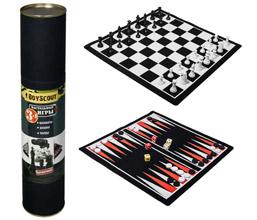 Шахматы, шашки, нарды на магнитах, набор 3 в одном Boyscout 61454Товары для пикника<br><br>