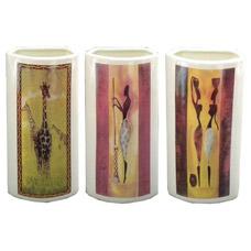 Увлажнитель воздуха керамический Африка, на радиатор отопления, 10x5x23 см, Orange 82011Товары для декора<br><br>