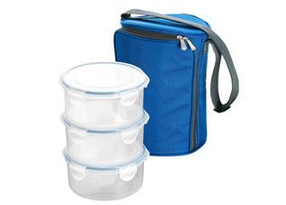 Термосумка для переноса еды Freshbox, с 3 емкостями 0.8 л, Tescoma 892212Хранение и упаковка продуктов<br><br>