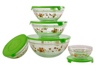Набор стеклянных салатников Irit GLSA-5-002Сервировка стола<br><br>