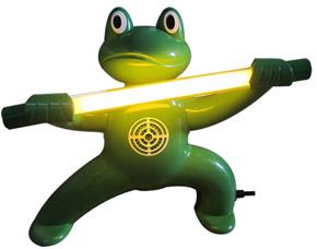 Стационарный отпугиватель насекомых в виде лягушки - мастера Кунг-Фу Экоснайпер GE-4 Kungfu frogСредства против вредителей<br><br>