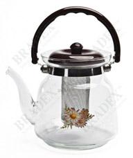 Чайник заварочный стеклянный Bradex TK 0038Заварочные чайники<br><br>