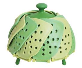 Складная пароварка Lotus Steamer Лотус, цвет зелёныйTV товары для кухни<br><br>