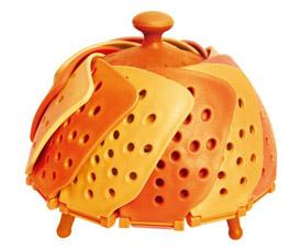 Складная пароварка Lotus Steamer Лотус, цвет оранжевыйTV товары для кухни<br><br>