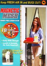 Сетка магнитная для дверей от насекомых Маскитофф Bradex TD 0264Средства против вредителей<br><br>