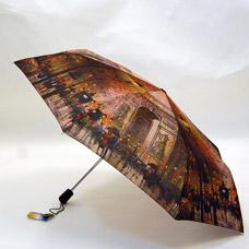 Зонт-автомат женский Ame Yoke ОК58-2 эпонжЗонты<br><br>