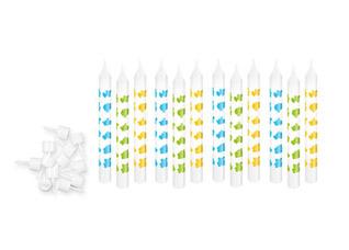 Свечи для торта с подставками Delicia Kids 6 см, 12 шт., одноцветные Tescoma 630980Выпечка<br><br>