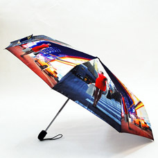 Зонт-автомат женский Ame Yoke ОК58-2-1 фотосатинЗонты<br><br>