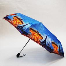 Зонт-автомат женский Ame Yoke ОК58-2-4 фотосатинЗонты<br><br>