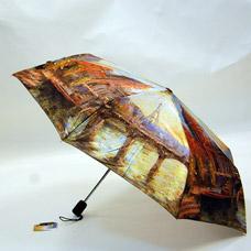 Зонт-автомат женский Ame Yoke ОК58-2 фотосатинЗонты<br><br>